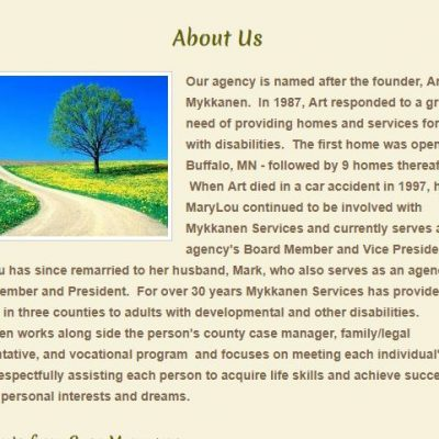 Mykkanen Foster Care Waivered Services Inc, 345 Annandale