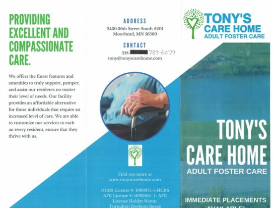 Tony's Care Home AFC, Moorhead