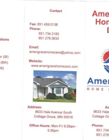 AmeriGrace Home Care LLC, Cottage Grove