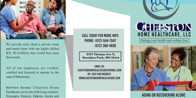 Chepston Home Health Care, Brooklyn Park