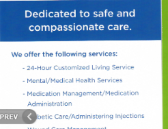Immaculate Home Care LLC, Group Home