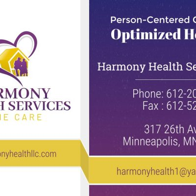 Harmony Health Services LLC, Minneapolis and Brooklyn Park