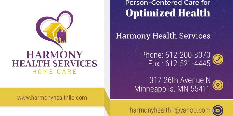Harmony Health Services Llc, Minneapolis
