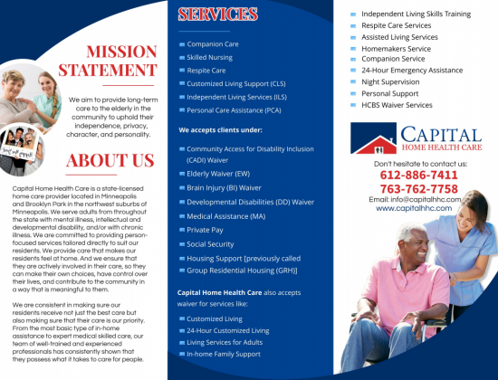 CAPITAL HOME HEALTH CARE, (Group Home) LLC, Multiple Locations (MAIN)