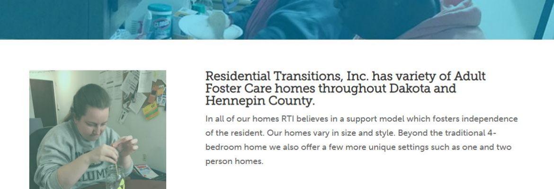 Residential Transitions, Inc, Minnetonka